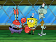 Squidward in Move It or Lose It-5