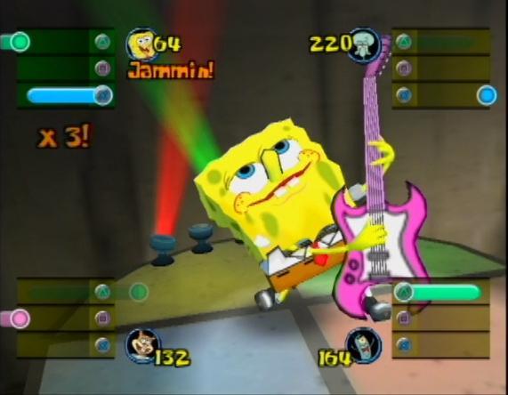 File:3D Spongebob & 1 Guitar (Lights, Camera, Pants)2.jpg
