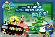 Atlantis SquarePantis Bus Rush