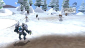 Captian vs snowmen