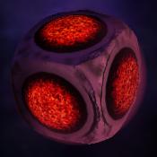 Lava Cube Planet
