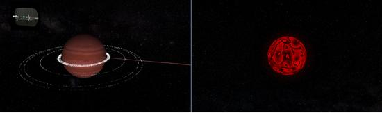 Igniting a brown dwarf