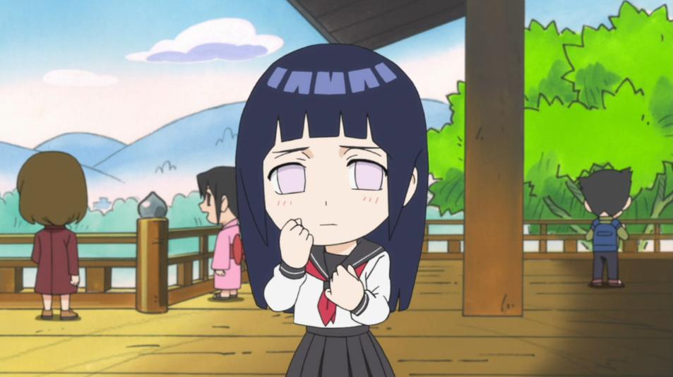 Naruto SD- Hinata springtime of youth! by EvilDei on