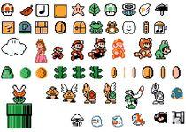 Mario 3 sprites