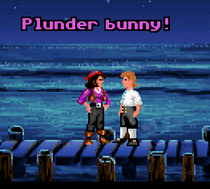 Monkey Island Plunder Bunny