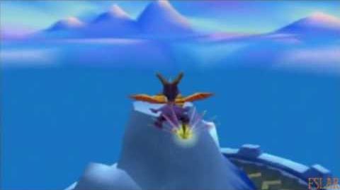 Spyro Year of the Dragon - 100% - Icy Peak - Part 2
