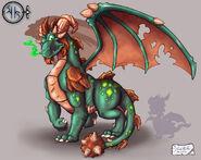 A DragonGuardian Earth