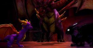 Spyro Dark Cynder Malefor