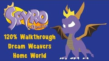 Spyro the Dragon 120% walkthrough - 25 - Dream Weavers Home World