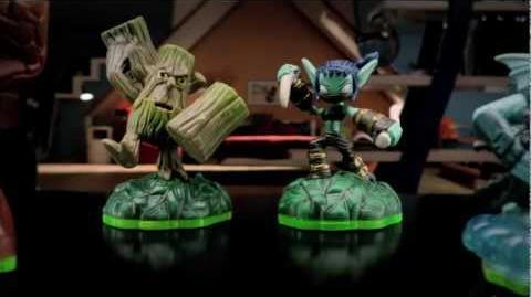 Skylanders Stealth Elf & Stump Smash TV Commercial