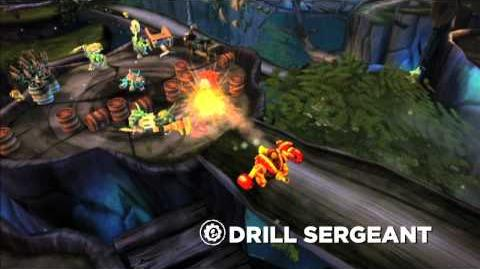 Meet the Skylanders Drill Sergeant (extended)