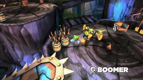 Skylanders Spyro's Adventure - Meet the Skylanders Boomer