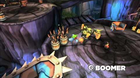 Skylanders Spyro's Adventure - Meet the Skylanders Boomer