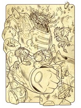 Machine of Doom Illustration9