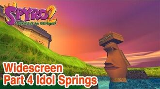 -Widescreen HD- Spyro 2 - Part 4- Idol Springs
