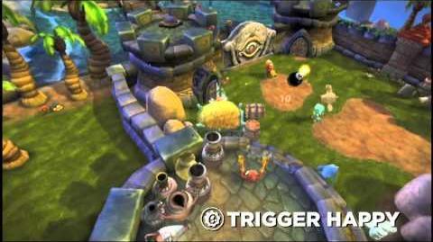 Skylanders Spyro's Adventure - Trigger Happy Trailer (No Gold, No Glory)