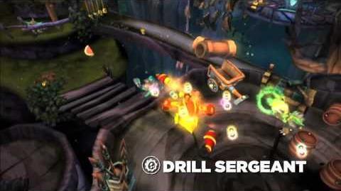 Skylanders Spyro's Adventure - Drill Sergeant (Licensed to Drill)