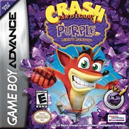 Crash Bandicoot Purple - Ripto's Rampage Coverart
