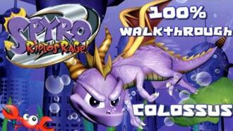 Spyro 2- Ripto's Rage! 100% Walkthrough - 4 - Colossus