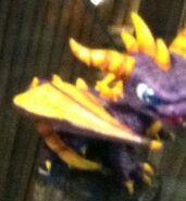 Blue-eyed Spyro