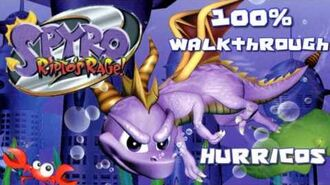 Spyro 2 - Ripto's Rage! 100% Walkthrough - 6 - Hurricos
