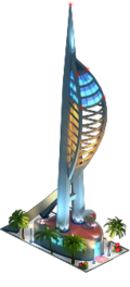 Portsmouth Tower (Night)