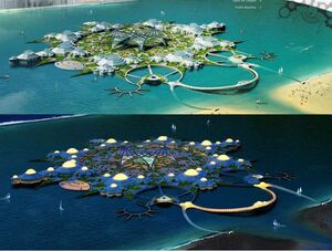Water Village in Sharjah, Dubai (project)
