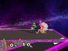 Luigi Neutral attack SSBM