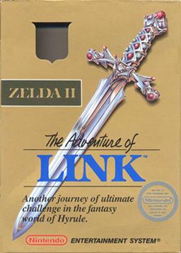 Zelda II The Adventure of Link boxart