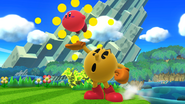 SSB4-Wii U Congratulations Pac-Man All-Star