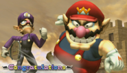Wario Congratulations Screen Classic Mode Brawl