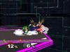 Luigi Floor attack (back) SSBM