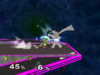 Young Link Floor attack (front) SSBM