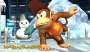 Diddy Kong Congratulations Screen Classic Mode Brawl