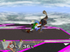 Link Forward throw SSBM