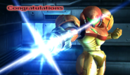 Samus Congratulations Screen Classic Mode Brawl