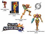 Samus Aran (Super Smash Bros. Evolution)