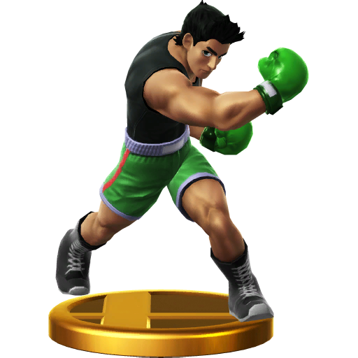 List of ssbwu trophies punch out series smashpedia for What is a punch out list