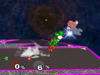 Yoshi Forward throw SSBM