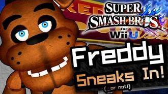 Super Smash Bros FREDDY FAZBEAR Trailer (Fan-Made)