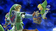 SSB4-Wii U Congratulations Link All-Star