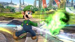 Luigi Fireball SSB4