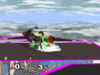 Young Link Back throw SSBM
