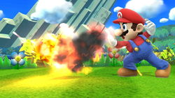 Mario Fireball SSB4