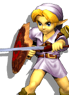 Young Link Palette 04 (SSBM)