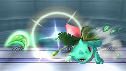 Ivysaur Razor Leaf Close SSBB