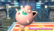 Jigglypuff Congratulations Screen Classic Mode Brawl