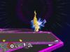 Pikachu Down aerial SSBM