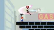 Advancing Air Slash (Second slash)