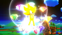 Super Sonic and the 7 Chaos Emeralds